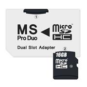Connect IT Adapter MS Pro Duo 2xmicroSDHC Dual Slot