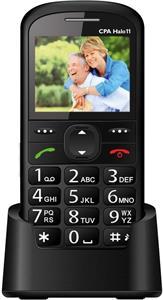 CPA Halo 11, čierny, telefón pre seniorov