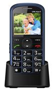 CPA Halo 11, modrý, telefón pre seniorov