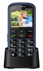 CPA Halo 11, telefón pre seniorov, modrý
