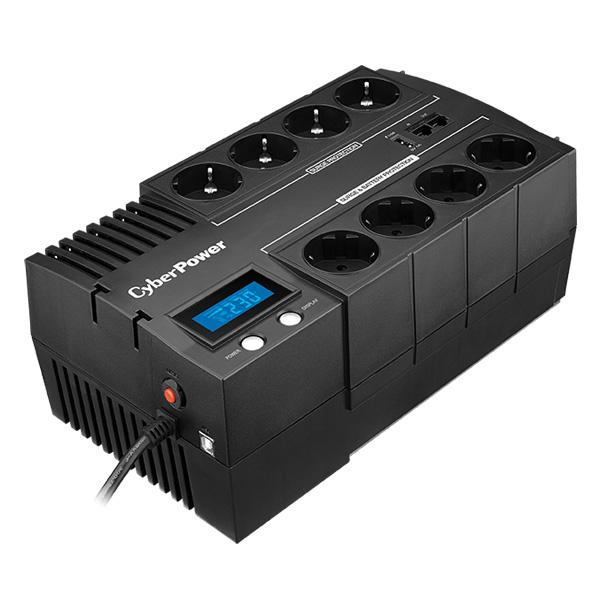 CyberPower Green Power UPS BR1200ELCD-FR, 8FR, 1200VA/720W