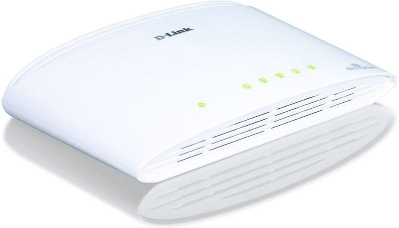D-Link DGS-1005D, 5-port, Gigabit Ethernet