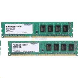 DDRAM3 8GB (2x4GB) Patriot 1333Mhz CL9