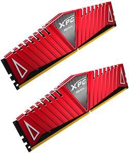 DDRAM4 8GB (2x4GB) ADATA XPG Z1 2800MHz CL17 1.2V DIMM červený chladič