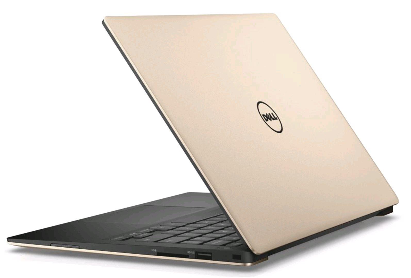 Dell XPS 13 9360 TN-9360-N2-712G, zlatý