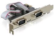 Delock karta PCI Express -> 2x serial com 9pin