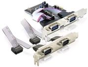 Delock karta PCI Express -> 4x serial