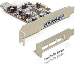 Delock PCI Express Card > 3 x external+, Delock PCI Express Card > 3 x external+