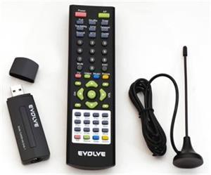 Digitálny TV Tuner EVOLVE Venus Dual DVB-T USB