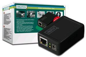Digitus NAS server pro USB HDD pouzdra, FTP, až do 1.5 TB 1x USB 2.0, 1x 10/100 Mbps LAN, Samba a BitTorrent server