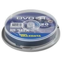 DVD+R Traxdata 10 pack 16X/4.7GB