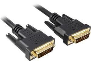 DVI kábel M/M, 25.0m, prepojovací, dual link