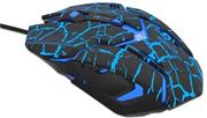 E-Blue Auroza Gaming, myš, čierna