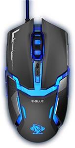 E-Blue Auroza Type IM, optická myš, drôtová, čierna