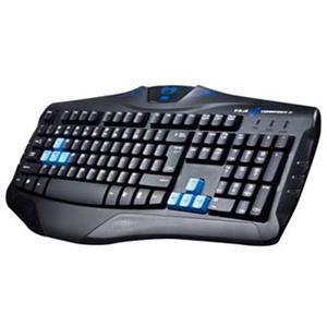 E-Blue Cobra, herná klávesnica, čierna, USB, podsvietené okraje, odolná proti poliatiu SK
