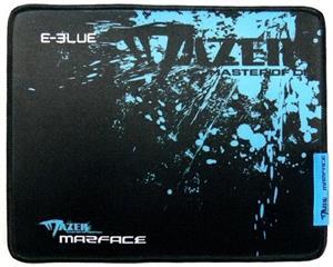 E-Blue Mazer Marface S, herná podložka, čierno-modrá, 28x22,5cm