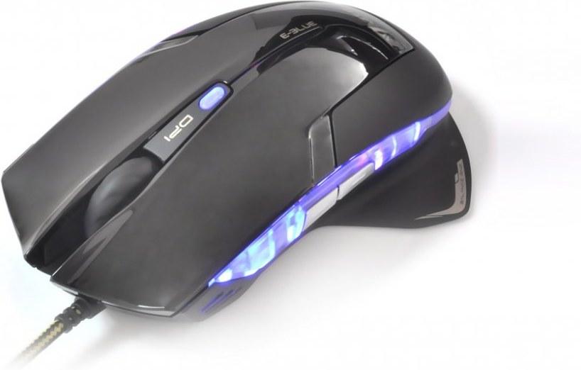 E-Blue Mazer R, myš, čierna