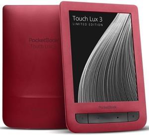 E-book Pocketbook 626 Touch Lux 3, Ruby červený + 100 kníh