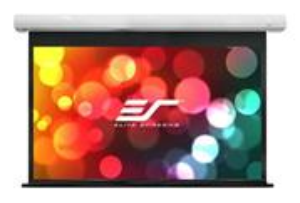 """ELITE SCREENS plátno elektrické motorové 100"""" (254 cm)/ 4:3/ 152,4 x 203,2 cm/ case bílý/ 10"""" drop/ Fiber Glass"""