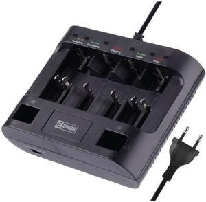 EMOS UNI6, nabíjačka batérií