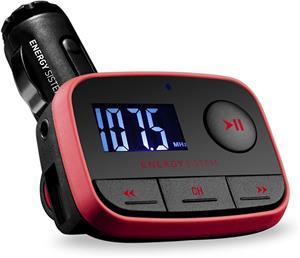 Energy Car MP3 f2 Racing Red, FM vysielač, SD/SDHC karty až do kapacity 32GB, MP3,WMA,USB,DO