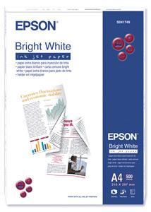 Epson A4, Bright White, 90g, 500ks
