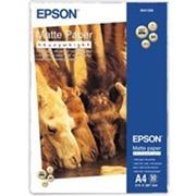 Epson A4, Mate Paper-Heavyweight, 167g, 50ks