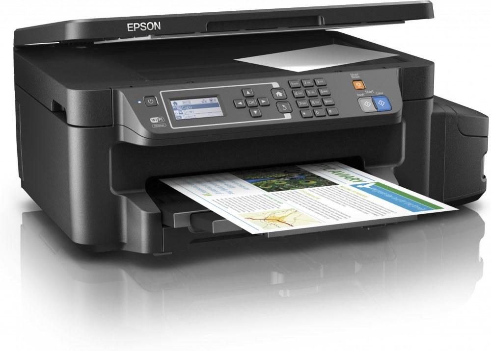Epson L605, color, fax, wifi, iPrint, duplex
