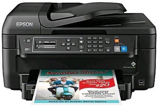 EPSON WorkForce WF-2750DWF, duplex, ADF, fax, wifi