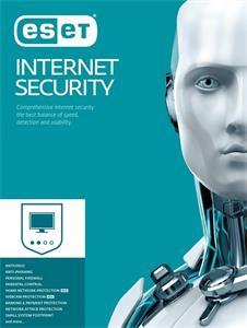 ESET Internet Security - el. licencia pre 1 PC + 2 ročný update