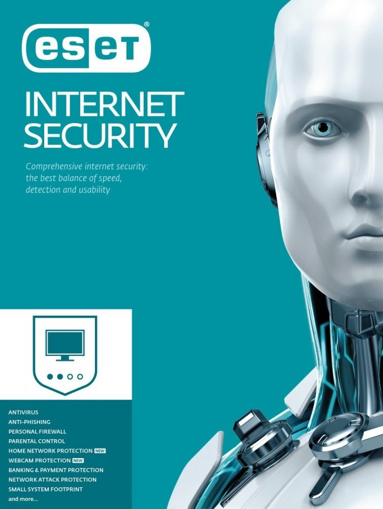 ESET Smart Security - licencia pre 1 PC + 2 mesačný update
