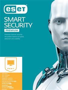 ESET Smart Security Premium- el. licencia pre 2 PC + 1 ročný update