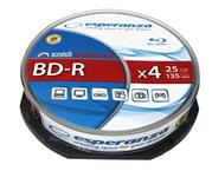 Esperanza BD-R 4X/25GB/10 balenie