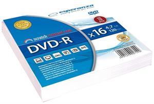 Esperanza DVD-R, obalka, 4.7GB 16x, cena za 1 ks