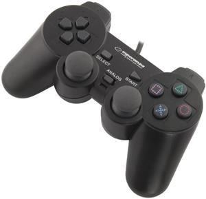 Esperanza EG106 CORSAIR gamepad s vibráciami pre PC/PS2/PS3, USB