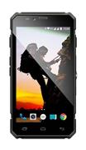 EVOLVEO StrongPhone Q6 LTE, vodotesný, odolný, čierny