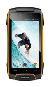 Evolveo StrongPhone Q8 LTE, vodotesný odolný smartphone, čierno-žltý