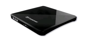 Ext. DVD-RW Transcend TS8XDVDS-K externá čierna slim