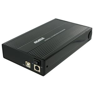 """Externý box 4World Hliníkové puzdro 3,5"""" HDD SATA, USB2.0"""