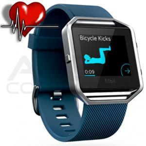 FITBIT BLAZE L, športové hodinky, modré