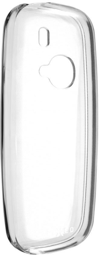 FIXED TPU gélové puzdro, pre Nokia 3310 (2017), transparentné