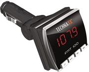 FM transmitter + MP3 přehrávač Technaxx FMT100 LCD displej, audio JACK