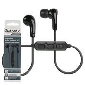 Fontastic Essential E2, bezdrôtové In-Ear stereo slúchadlá, čierne