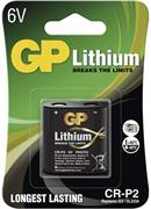 Foto líthiová batéria GP CR-P2, 1 ks v blistri