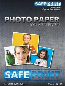 Fotopapier SafePrint laser lesklý, 135g, A4, 20 listů