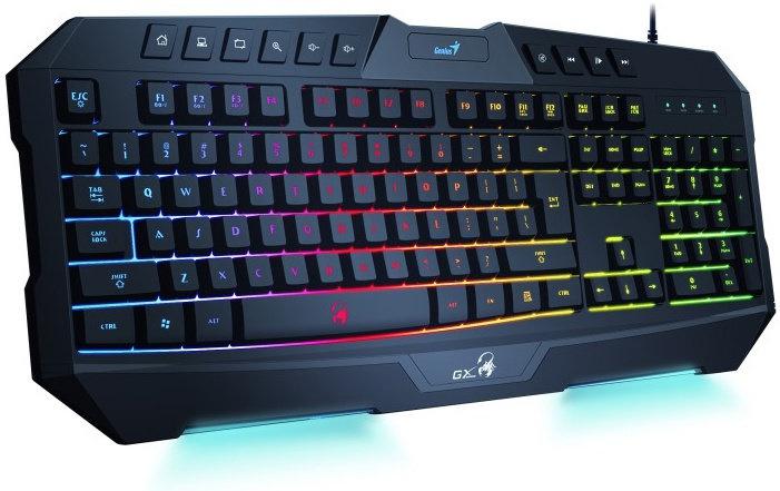 Genius GX Gaming Scorpion K20, herná klávesnica, CZ+SK, čierna