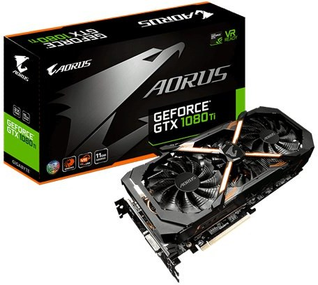 GIGABYTE AORUS GTX 1080 Ti 11G