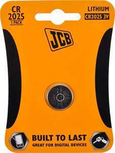 Gombíková lítiová batéria JCB CR2025, blister 1 ks