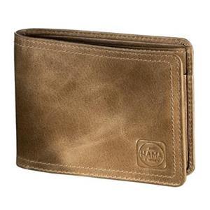 Hama 1923 Mailand, pánska kožená peňaženka H3, svetlo hnedá