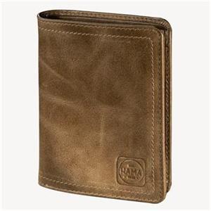 Hama 1923 Mailand, pánska kožená peňaženka H4, svetlo hnedá